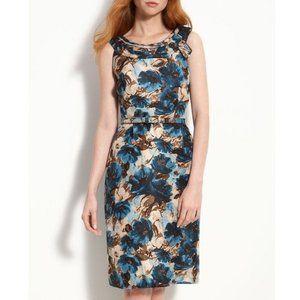 KATE SPADE 100% Silk Floral Sheath Mini Dress